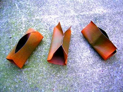 木目の紙の器(3種類)