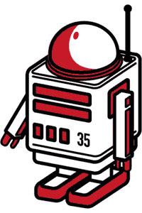 Locomotion.comのマスコットロボット