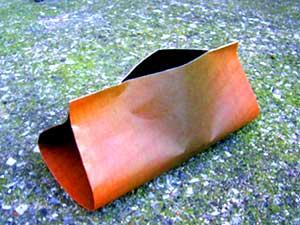 木目の紙の器(その1)