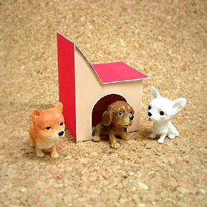 kennel(ケンネル 犬小屋スツール)の紙工作